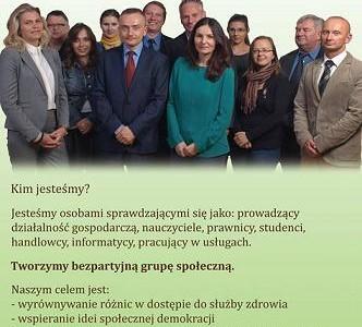 Kandydaci do Rady Sejmiku woj. mazowieckiego.