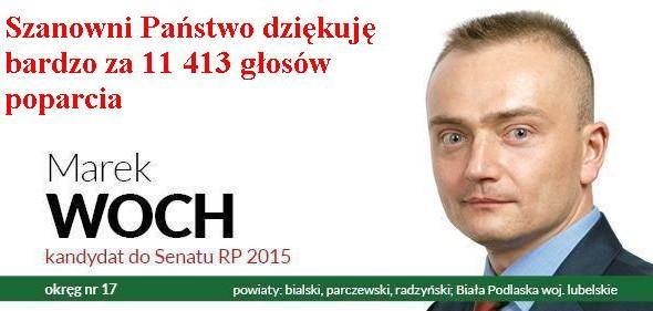 Marek Woch Kandydat na Senatora RP 2015
