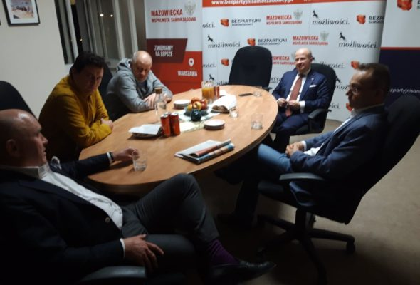 10.05.2021 r. Spotkanie z dr Bartłomiejem Wróblewskim kandydatem na Rzecznika Praw Obywatelskich