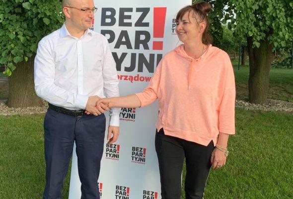 Bezpartyjna Kandydatka Marzanna Kamola w wyborach na Wójta Gminy Puławy 20 czerwca 2021 r. uzyskuje drugi wynik (18,6 proc.)